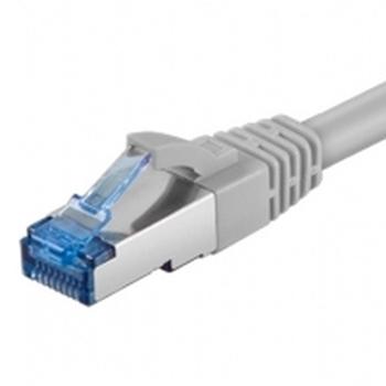 Digitus 1m Cat6 S-FTP cavo di rete S/FTP (S-STP) Grigio