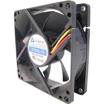 Chieftec AF-1225PWM ventola per PC Case per computer Nero