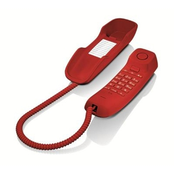 Gigaset DA210 Telefono analogico Rosso