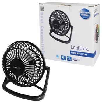 LogiLink UA0192 ventilatore Nero