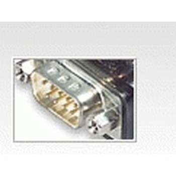 Aten UC232A cavo di interfaccia e adattatore USB RS-232 Argento