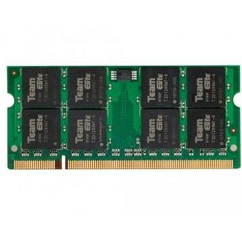 Team Group Elite 1GB So-DIMM DDR2 800 memoria 800 MHz