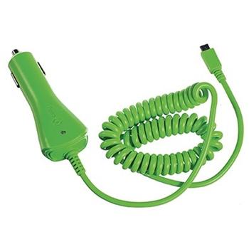 Celly CCMICROG Caricabatterie per dispositivi mobili Verde Auto