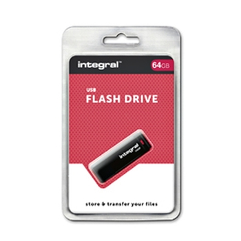 Integral BLACK unità flash USB 64 GB USB tipo A 2 Nero