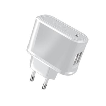 Celly TCUSB22W Caricabatterie per dispositivi mobili Interno Bianco