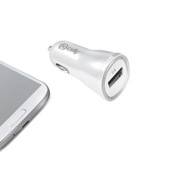 Celly CCUSBW Caricabatterie per dispositivi mobili Auto Bianco