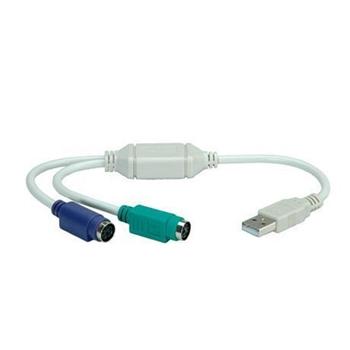 NILOX ADATTATORE 2 X PS2 TO USB BLISTER