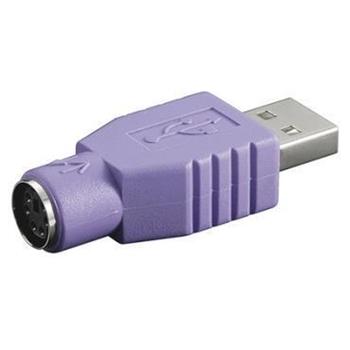 Nilox NX080500104 cavo di interfaccia e adattatore USB 2.0 PS/2 Viola