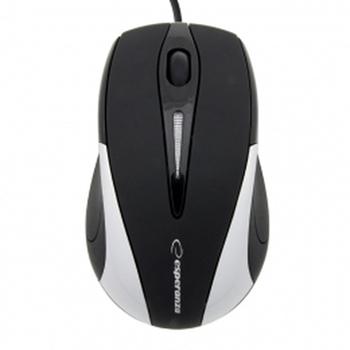 ESPERANZA EM102S - 5905784767031 ESPERANZA EM102S SIRIUS - Wired Mouse Optical USB | 800 DPI |Srebrna| BLISTER