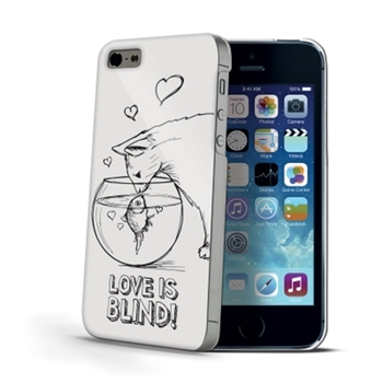 Celly Love is Blind custodia per cellulare Cover Bianco
