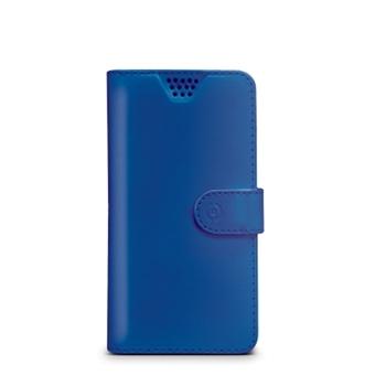 """Celly WALLYUNILBL custodia per cellulare 11,4 cm (4.5"""") Custodia a borsellino Blu"""