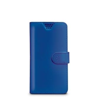 """Celly WALLYUNIMBL custodia per cellulare 10,2 cm (4"""") Custodia a borsellino Blu"""
