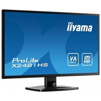 "iiyama ProLite X2481HS-B1 LED display 59,9 cm (23.6"") 1920 x 1080 Pixel Full HD Nero"