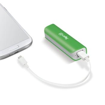 Celly Li-Ion 2600mAh batteria portatile Ioni di Litio Verde