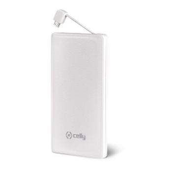 Celly PB3000WH batteria portatile Polimeri di litio (LiPo) 3000 mAh Bianco