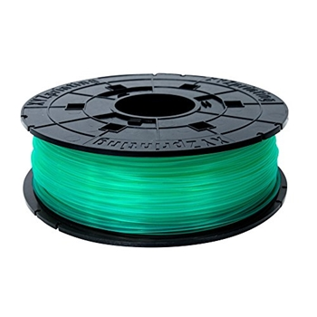 XYZ printing Clear Green 500/600g PLA-filament 3D for Junior Serien