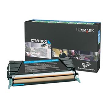 LEXMARK TONER CIANO C736 X736 X738