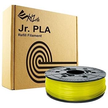 XYZprinting RFPLCXEU03J materiale di stampa 3D Acido polilattico (PLA) Giallo 600 g