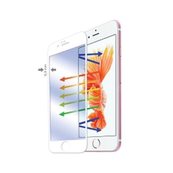 Celly GLASS701WH protezione per schermo Apple 1 pezzo(i)