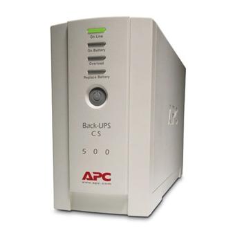 APC Back-UPS gruppo di continuità (UPS) Standby (Offline) 500 VA 300 W 4 presa(e) AC