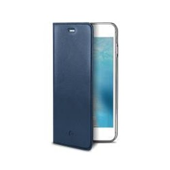 "Celly AIRPELLE800BL custodia per cellulare 11,9 cm (4.7"") Custodia a libro Blu"