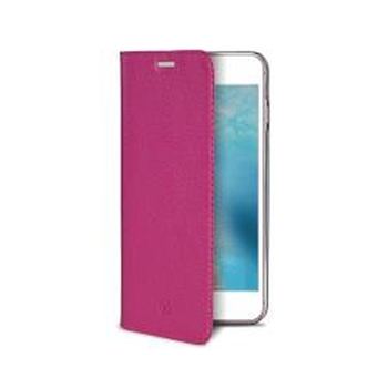 "Celly AIRPELLE800PK custodia per cellulare 11,9 cm (4.7"") Custodia a libro Rosa"
