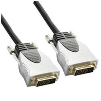 Nilox DVI-D 2.0m cavo DVI 2 m Nero