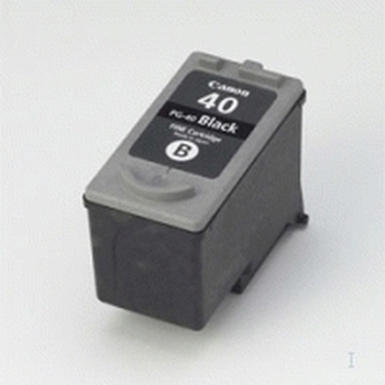 Cartridge Canon PG40 black pigment | 16ml | iP1200/1600/2200/MP150/1