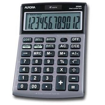 Aurora DT 661 calcolatrice Desktop Argento