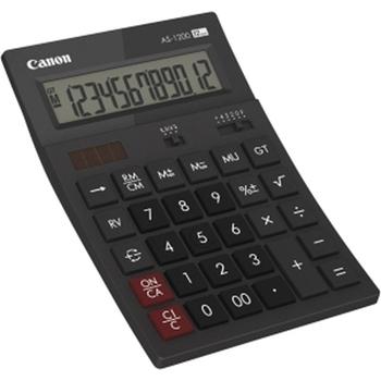 Canon AS1200HB calcolatrice Scrivania Calcolatrice di base Grigio