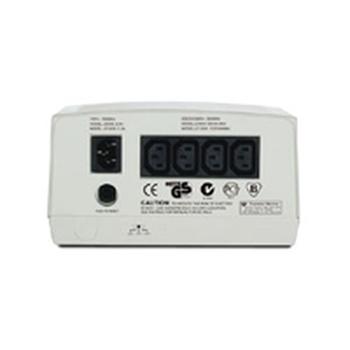 APC Line-R regolatore di tensione 4 presa(e) AC 230 V Beige