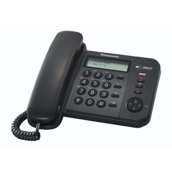 Panasonic KX-TS560EX1B telefono Nero Identificatore di chiamata