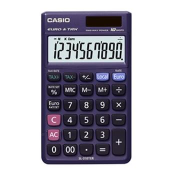 Casio SL-310TER calcolatrice Scrivania Calcolatrice di base Porpora