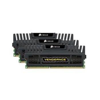memory D3 1600 12GB C9 Corsair Ven K3 3x4GB Vengeance, black, 1,5V