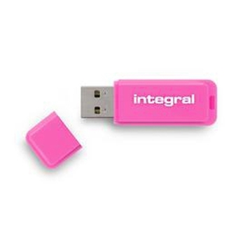 Integral NEON unità flash USB 16 GB USB tipo A 2 Rosa