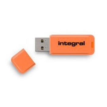 Integral NEON unità flash USB 32 GB USB tipo A 2 Arancione