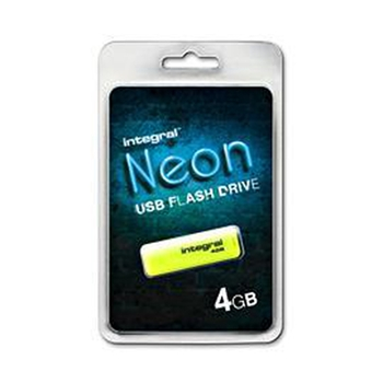 INTEGRAL 8GB USB Drive NEON yellow