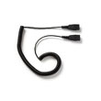 Jabra Cord - QD to QD extension cord 0,5 m Nero