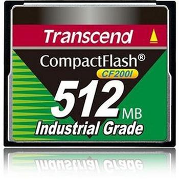 Transcend TS512MCF200I memoria flash 0,5 GB CompactFlash