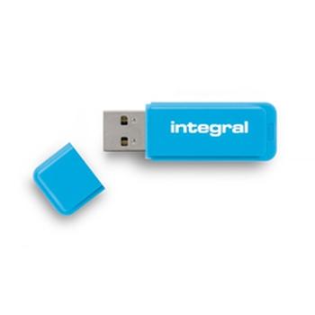 Integral NEON unità flash USB 8 GB USB tipo A 2 Blu