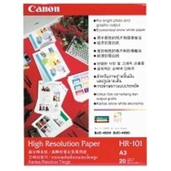 Canon HR-101N A3 High Resolution Paper carta inkjet