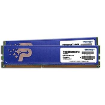 PATRIOT DDR3 SL 8GB 1333MHZ UDIMM KIT with HS 2x4GB