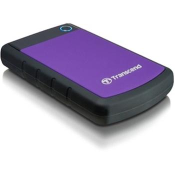 TRANSCEND StoreJet 25H3 HDD 1TB extern 6,4cm 2.5Zoll USB3.0 Purple